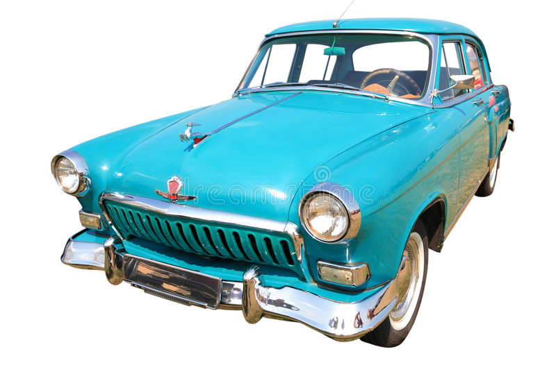 Vintage Russian Car 60-70 stock photo