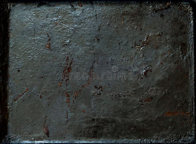 Vintage rusty metal background, food concept,copy space, closeup, stock photo