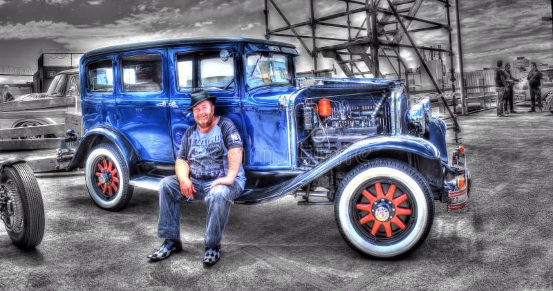 Vintage 1920s Australian Chrysler stock image