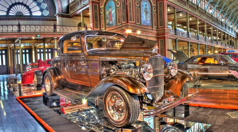 Custom Exhibition Stands Melbourne : Vintage s ford hot rod editorial stock photo image