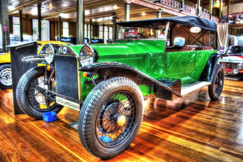 Vintage 1920s Italian Lancia Lambda royalty free stock photography