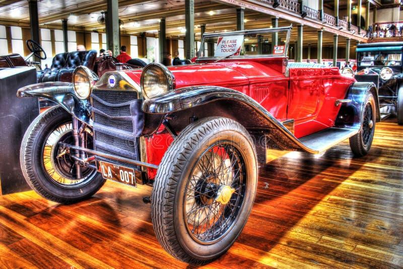 Vintage 1920s Italian Lancia Roadster royalty free stock image