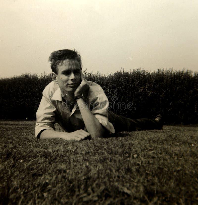 Vintage 1960s photo stock photo