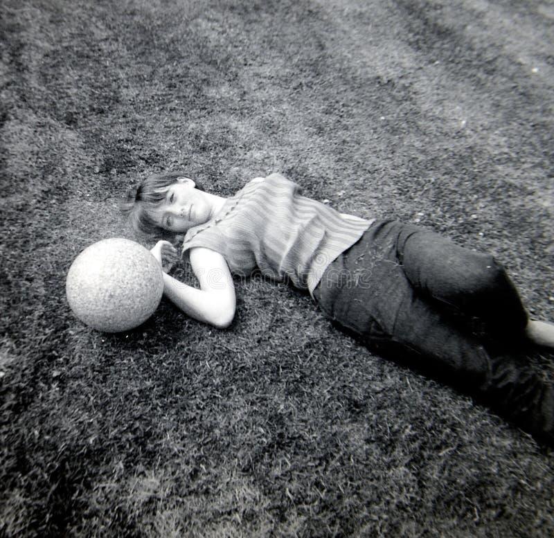 Vintage 1960s photo stock photography