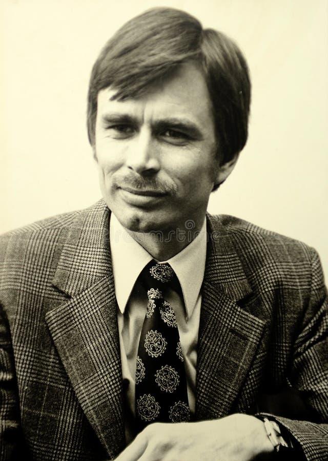 Vintage 1970s photo stock photos