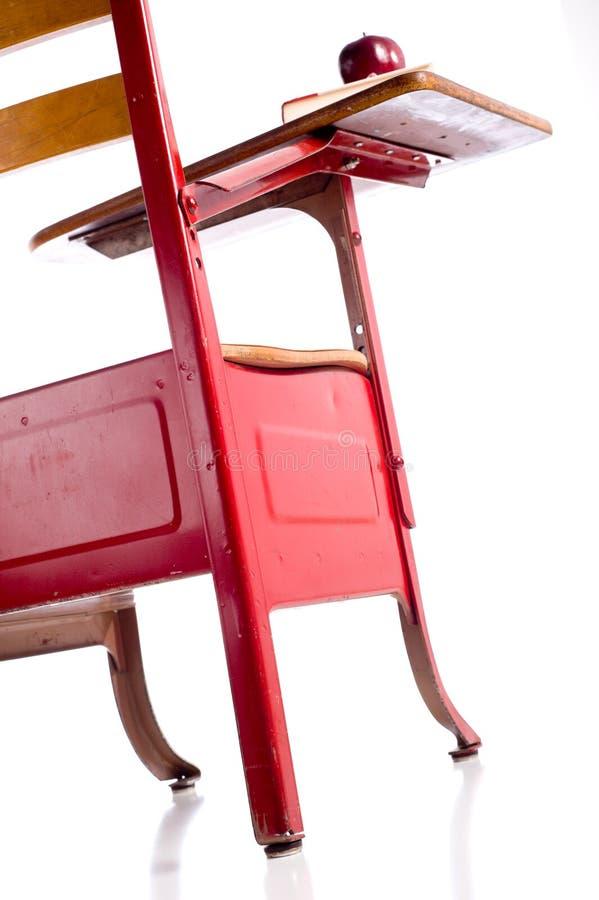 Vintage School Desk royalty free stock image