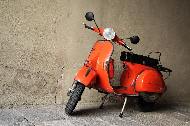 Download Vintage Scooter Editorial Photo - Image: 20254951