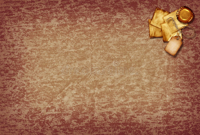 Vintage Scrap Paper Royalty Free Stock Photography