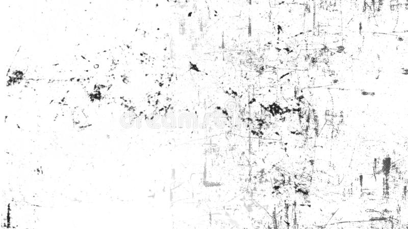Vintage scratched grunge overlays texture on isolated white background space for text stock photography