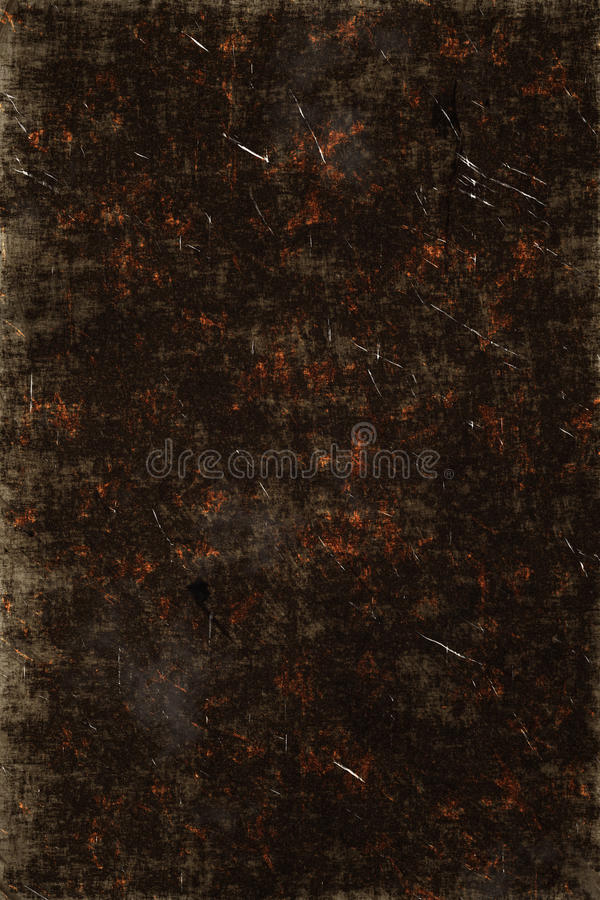 Vintage scratched grunge texture. Background stock photography