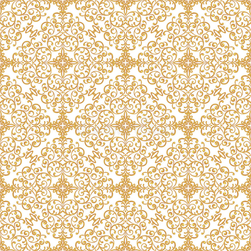 Vintage seamless background. royalty free stock photography