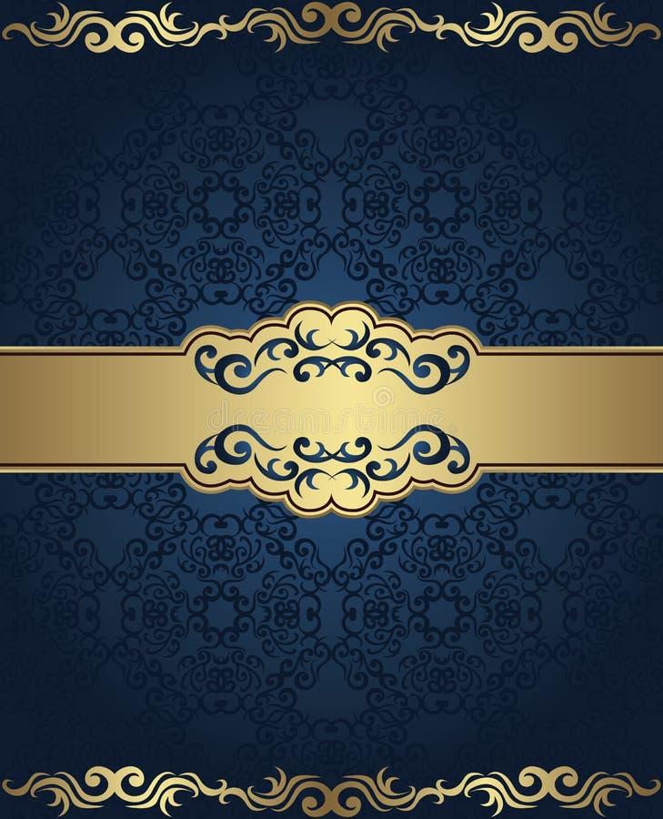 Download Vintage Seamless Damask Background Stock Vector - Illustration of seamless, ornament: 33024064