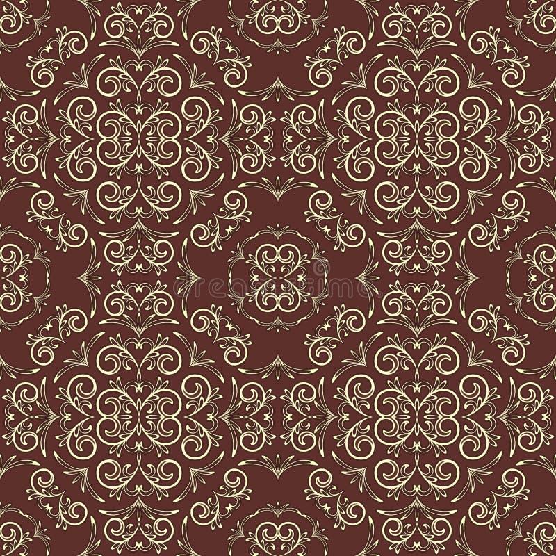 Download Vintage Seamless Floral Pattern Stock Vector - Illustration: 24413667