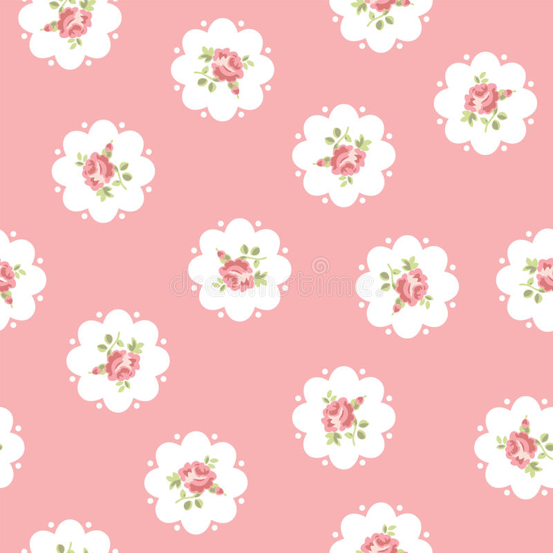 Free Vintage Seamless Floral Pattern Royalty Free Stock Photography - 31615227