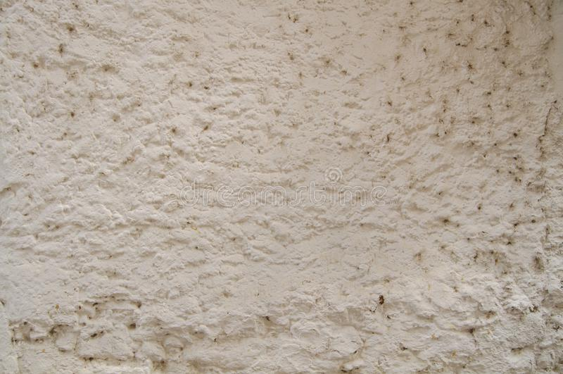 White Old Vintage Pain Peeling Wall Cracks Texture for background and design art work. Vintage Seamless Old Pain Peeling Wall Cracks Texture for background and royalty free stock photography