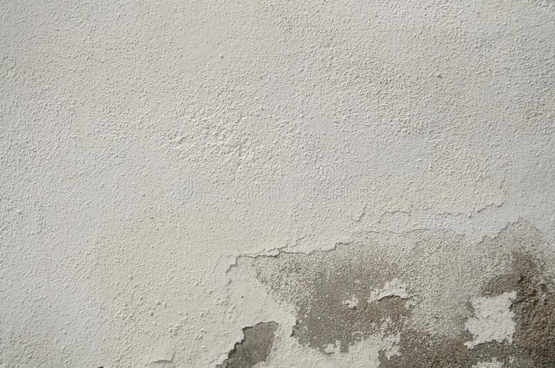 White Old Vintage Pain Peeling Wall Cracks Texture for background and design art work. Vintage Seamless Old Pain Peeling Wall Cracks Texture for background and stock image