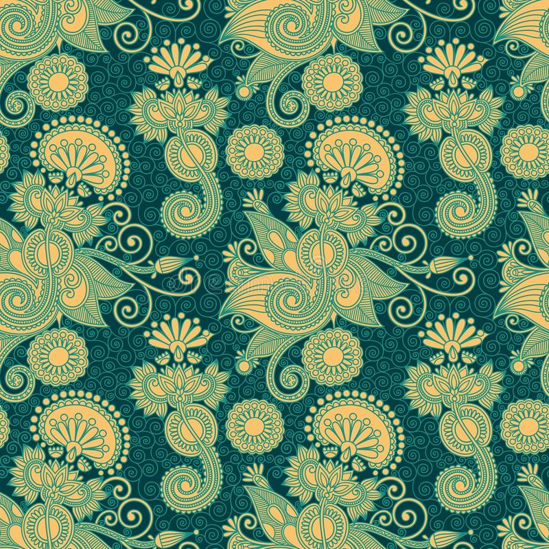 Download Vintage seamless pattern stock vector. Image of embellishment - 22458701