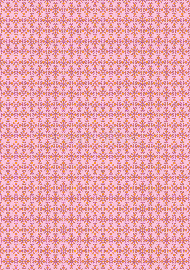 Free Vintage Seamless Pattern. Royalty Free Stock Photography - 23095367