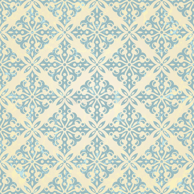 Vintage seamless pattern royalty free illustration