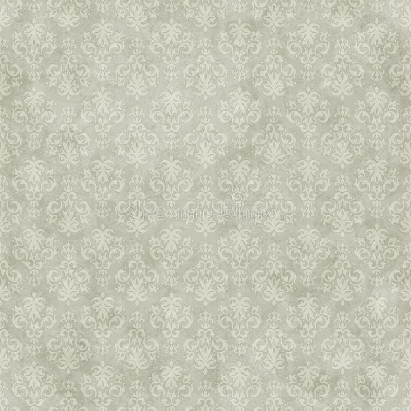 Vintage seamless pattern background royalty free illustration