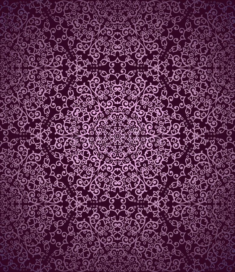 Download Vintage Seamless Pattern stock vector. Image of abstract - 32886442
