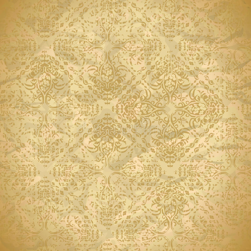 Vintage seamless pattern with ornaments