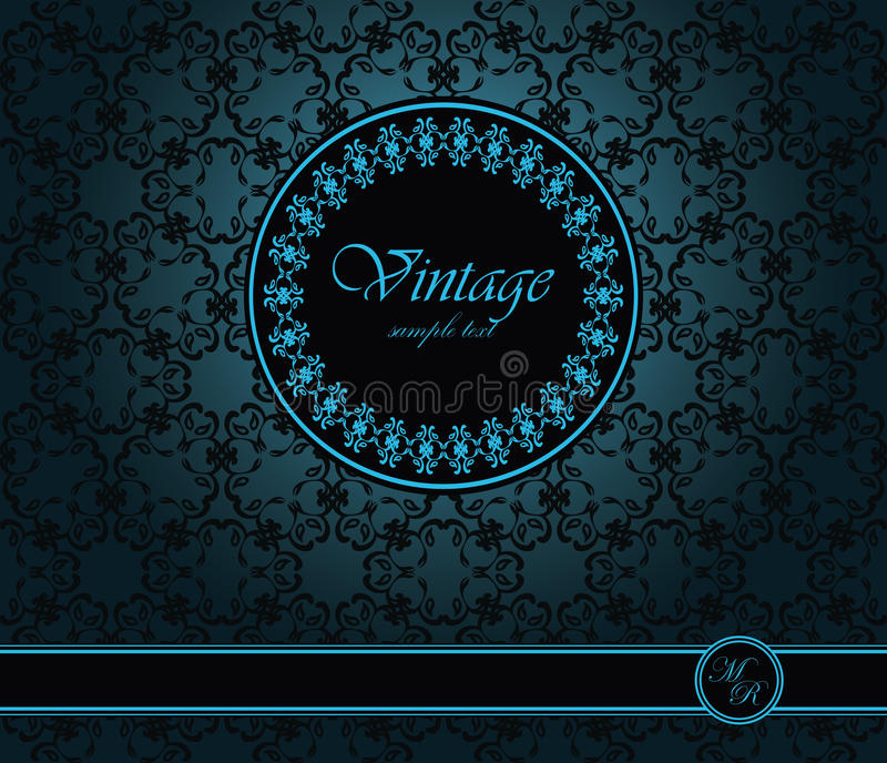 Download Vintage seamless wallpaper stock vector. Image of celebration - 28185696