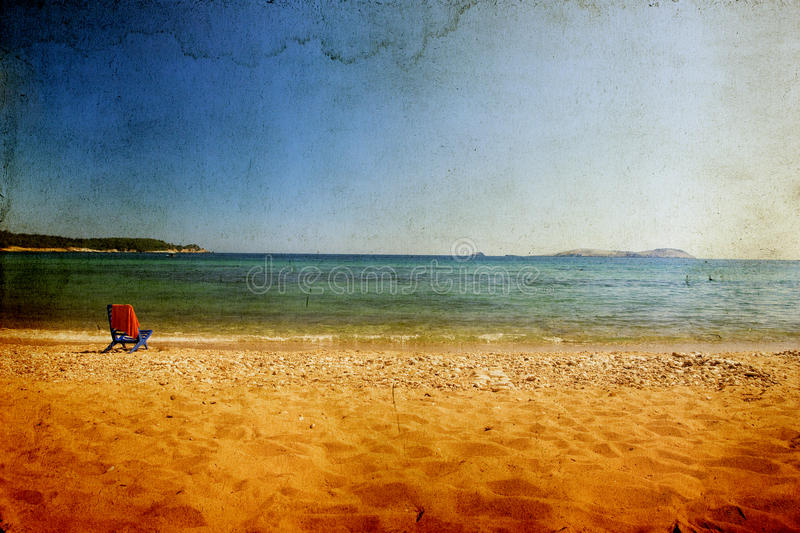 Download Vintage seascape stock photo. Image of rust, idyllic - 25455928