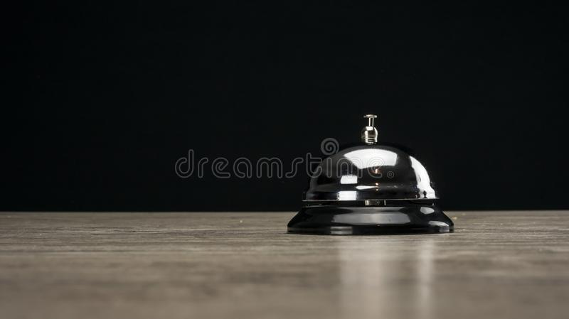 Vintage service bell royalty free stock photography
