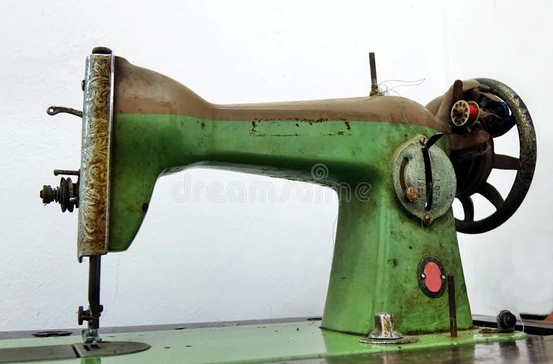 Vintage Sewing Machine stock image