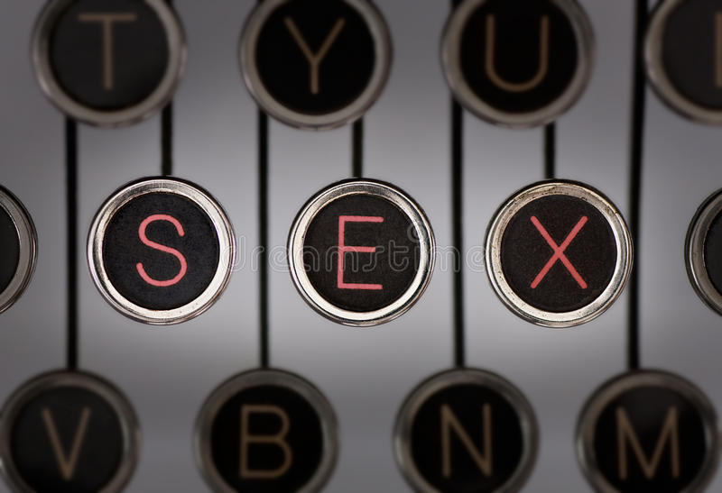 Vintage Sex royalty free stock image