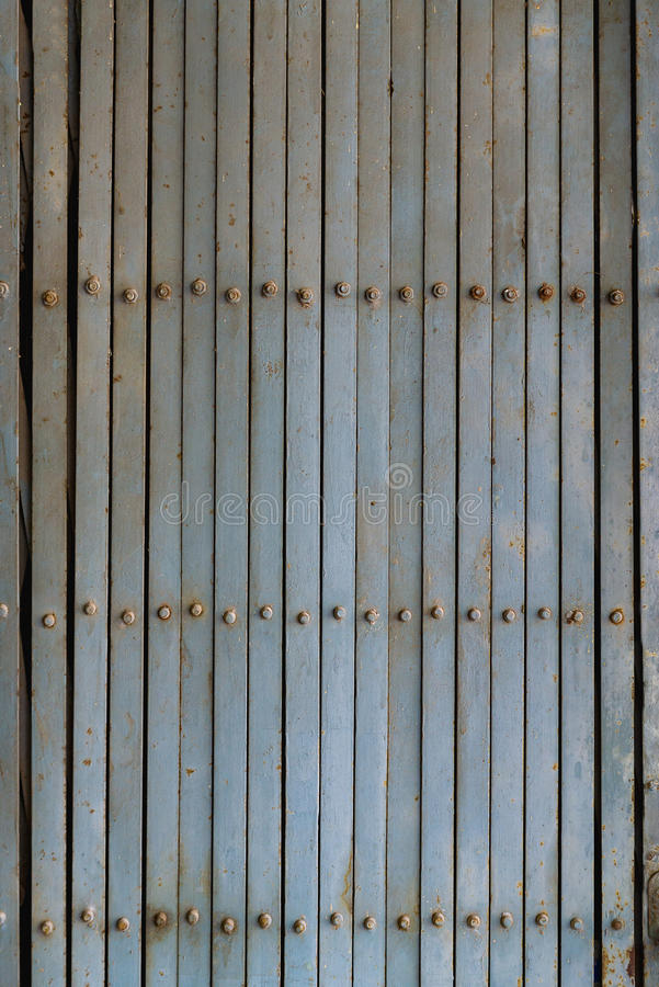 Vintage Shutter door, old rusted iron sliding gates. royalty free stock photos