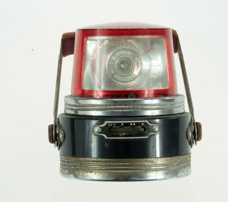 Vintage siren. For transportation stock photo