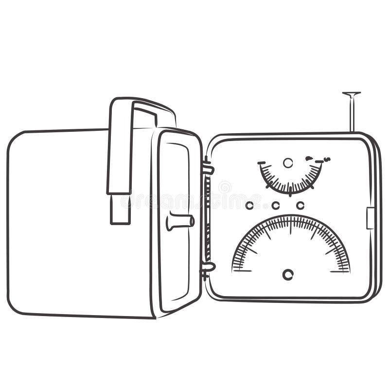 Download Vintage Sixties Design Radio - Bn Stock Illustration - Image: 15925370