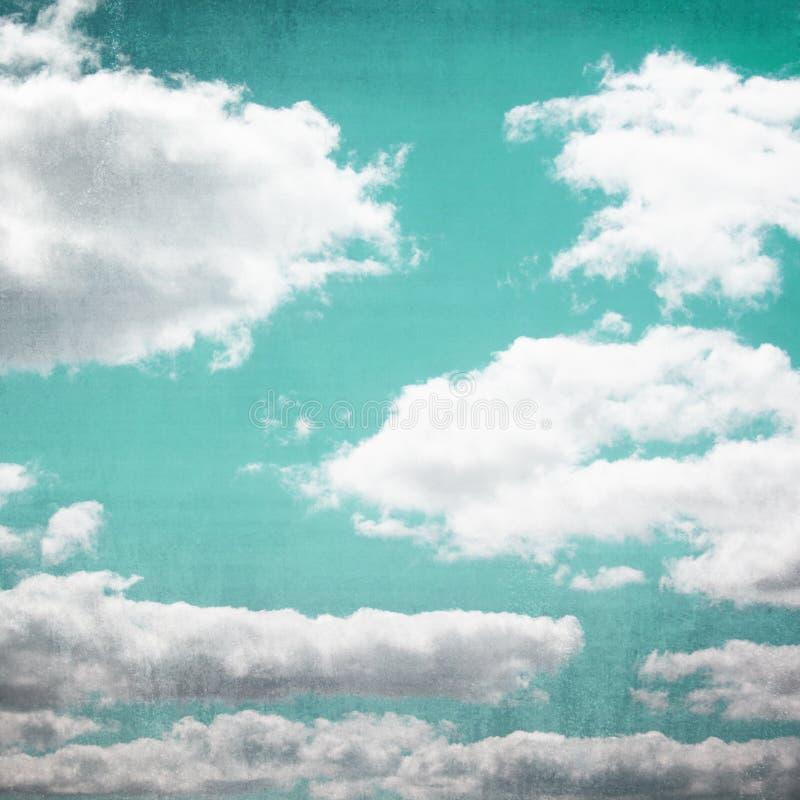 Download Vintage Sky Cloudscape stock illustration. Image of pattern - 29544993