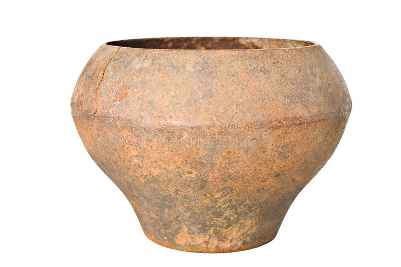 Download Vintage Slavonic Rusty Pig-iron Pot ,mug,jug Stock Photo - Image: 13862372