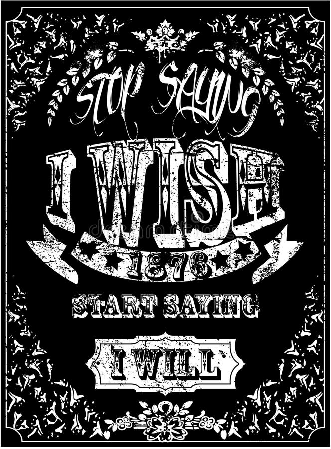 Vintage Slogan Man T Shirt Graphic Vector Design Stock ...