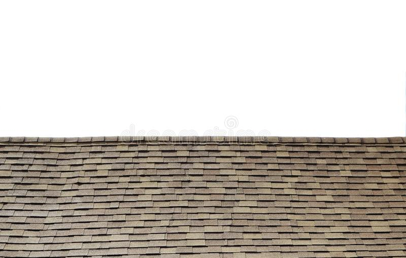 Vintage small tile roof stock photography