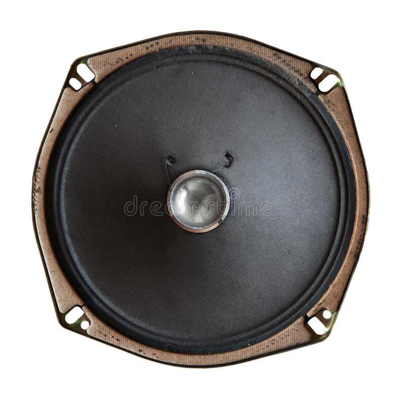 Download Vintage sound speaker stock photo. Image of macro, path - 10204868
