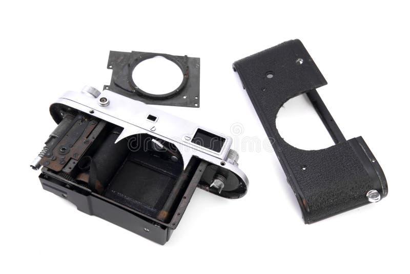 Download Vintage Soviet Rangefinder Camera Taken Apart Stock Image - Image: 20058841