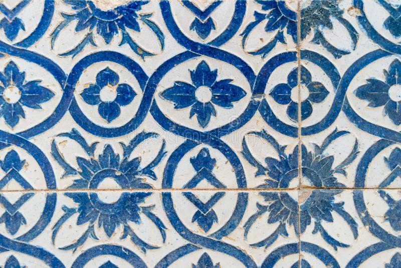 Vintage spanish tiles stock photography