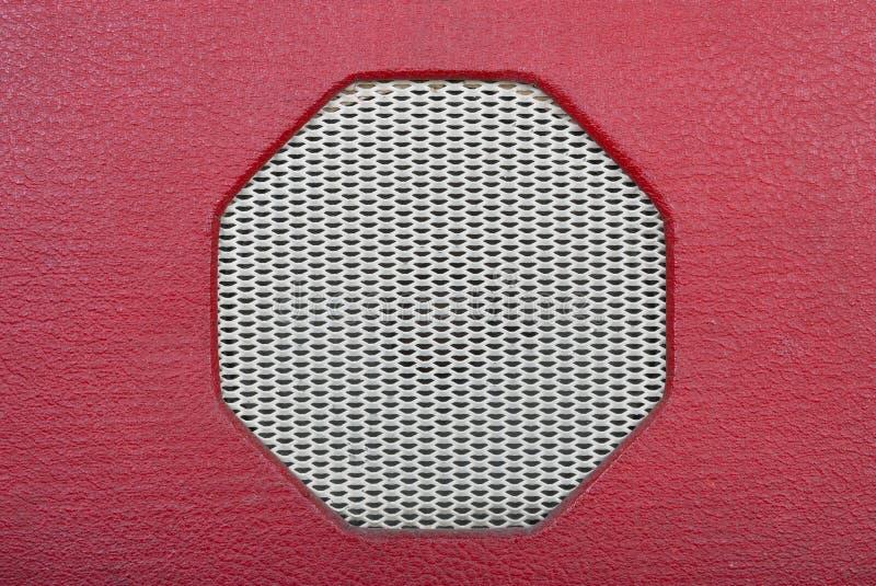 Vintage Speaker Grille Background stock images