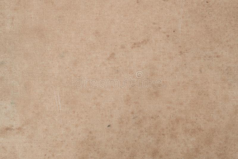 Vintage Stained Old Book cover. Old paper texture stock photography