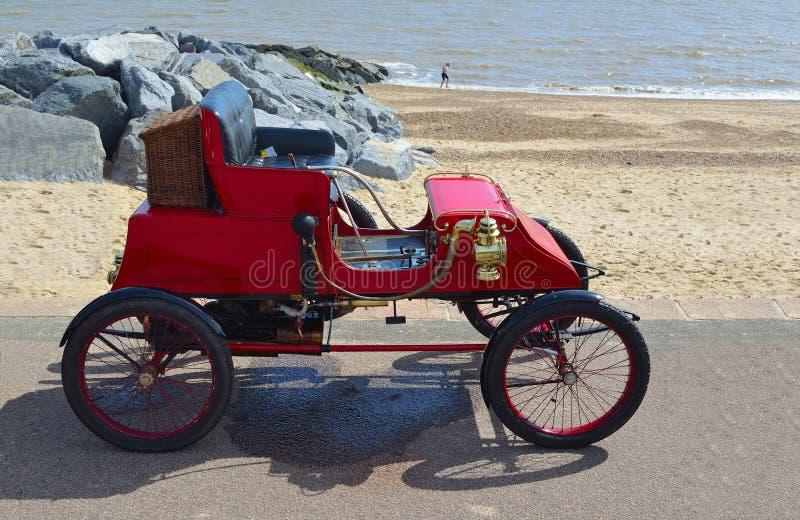 Vintage 1902 Stanley CX Steam Car stock photo
