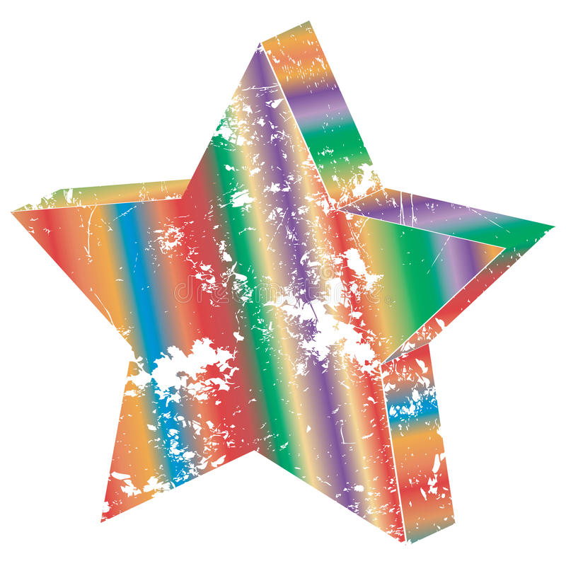 Download Vintage star stock illustration. Illustration of white - 11535241