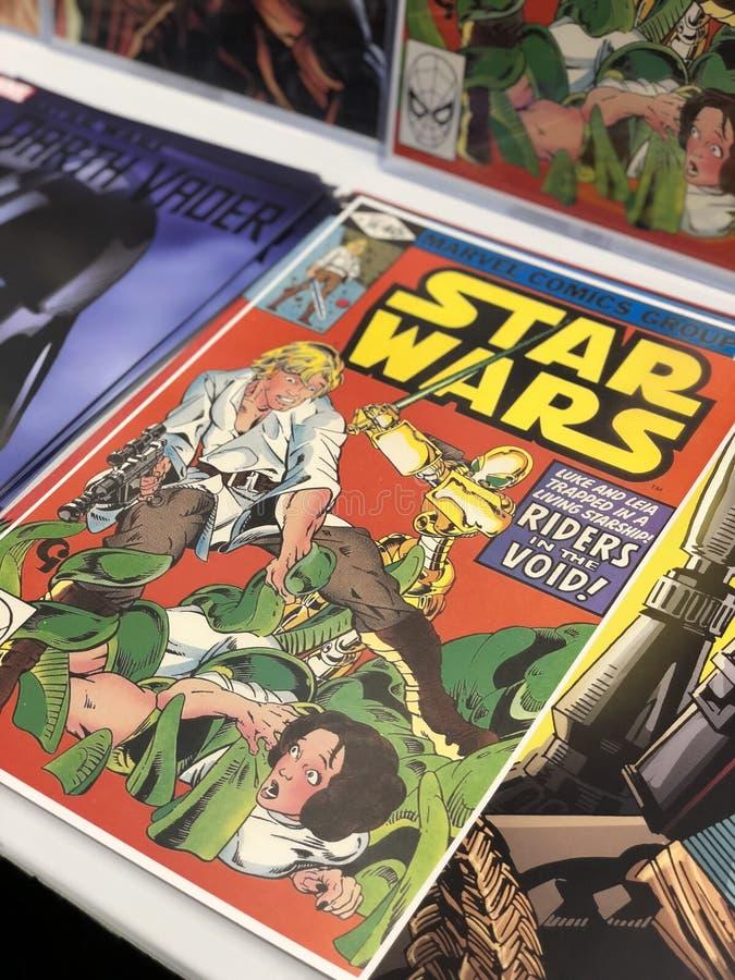 Vintage Star Wars Comic Book lizenzfreie stockbilder