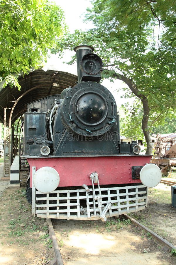 Vintage Steam Engine royalty free stock photography