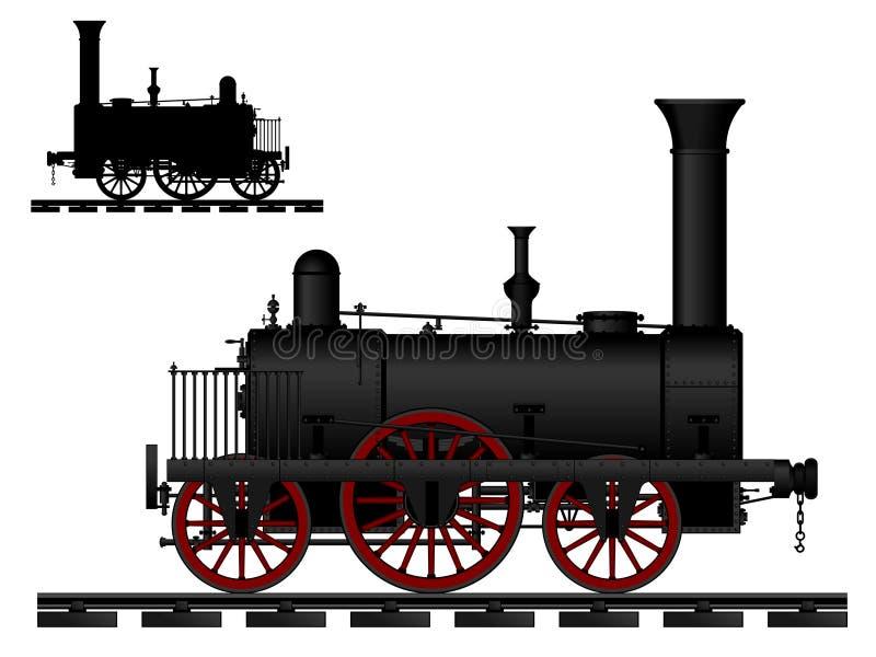Download Vintage Steam Locomotive Royalty Free Stock Images - Image: 24381519