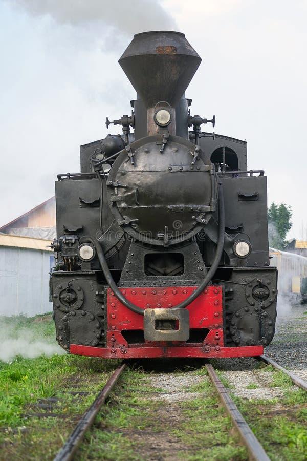 Vintage Steam Train Locomotive Stock Image