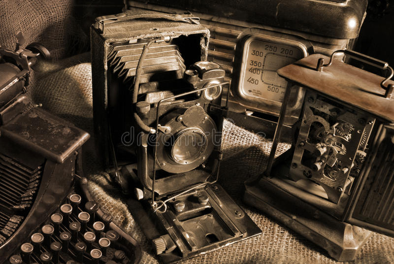 Vintage still-life stock images